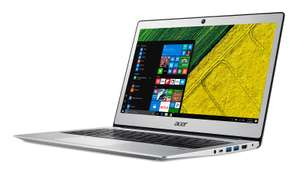 Acer Swift 1 Laptop (13.3 inch 1080p IPS) Pentium (N4200) 4GB 128GB - Silver - £299.99 @ Argos