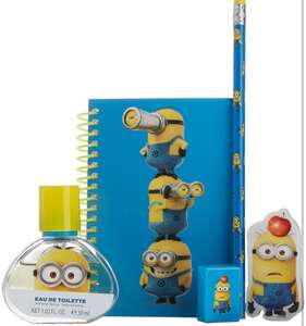 Minions perfume & stationery set £3.99 delivered @Amazon
