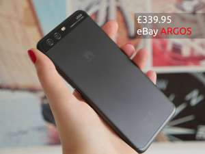Sim Free Huawei P10 5.1 Inch 64GB 4GB 12MP HD Mobile-Phone Black £349.95 Available direct @ ARGOS