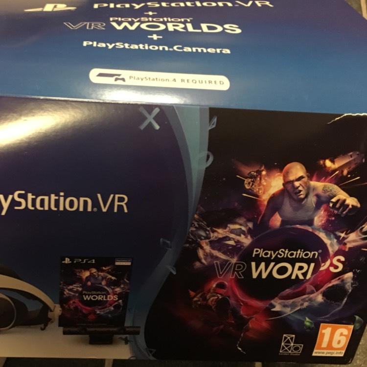 PlayStation VR + VR Worlds + PlayStation Camera + Doom £300 @ Grainger Games in Bootle