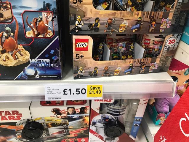 Lego ninjago 71019 £1.50 instore Tesco Hodgehill