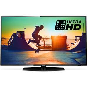 "Philips TV 43PUS6162 43"" Freeview HD and Freeview Play Smart 4K Ultra HD with HDR TV - £369.00 + £9 TCB @ ao.com"