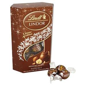 Lindt Lindor Hazelnut Cornet 200 g (Pack of 2) £5 Prime / £9.75 Non Prime @Amazon