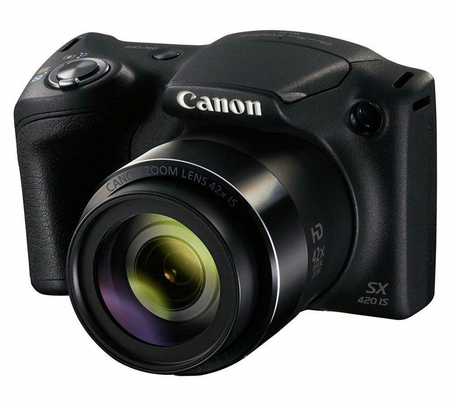 Canon Powershot SX420 20MP 42x Zoom Bridge Camera £114.99 @ Argos