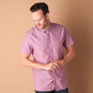 Timberland Mens Lane River Shirt Sizes XS/S/M/XL 2 for £22.51 inc del @ GetTheLabel.com (also Blue in XS/S/M)