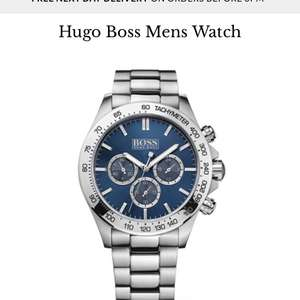 Hugo Boss Mens Watch - £280 @ Goldsmiths