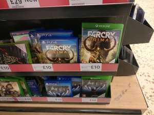 Far Cry Primal (Xbox One / PS4) £10 In-store @ Tesco Brent Park