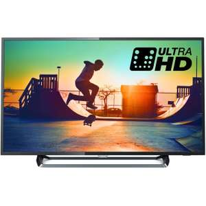 "Philips TV 43PUS6262 43"" Freeview HD and Freeview Play Smart Ambilight 4K Ultra HD with HDR TV - Dark Silver- £369 with code Delivered @ ao.com"