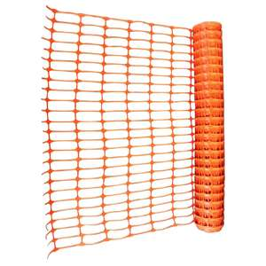 50m of orange mesh Safety Fence at Homebase - £5