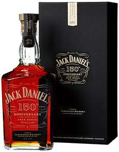 Jack Daniel's 150th Anniversary Tennessee Whiskey, 1 L for £79.99 RRP £149.99 @ Amazon