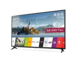 LG 43UJ630V 43 inch 4K Ultra HD HDR Smart LED TV (2017 Model) - £349 @ Amazon