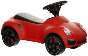 Big discounts on Selected Ride On Toys / Scooters / Bikes @ Halfords eg Porsche 911 Ride on Car Now £25 (links in post)