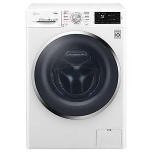LG F4J6VY2W Freestanding Washing Machine, 9kg Load, A+++ Energy Rating, 1400rpm Spin, White with free 5 Year warranty via redemption - £399 @ John Lewis
