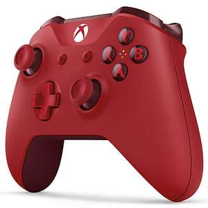 Official Xbox One S Wireless Controller, Red​ £34.95 with 2 year guarantee Free C&C Online & In-Store @ John Lewis