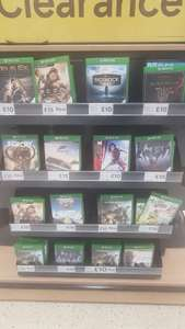 xbox one games clearance - Tesco Top Valley