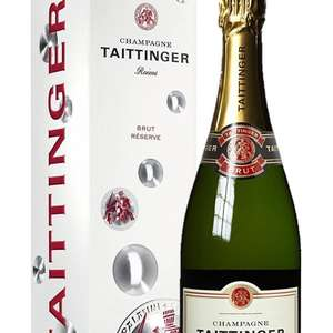 Champagne Taittinger Brut Reserve NV Magnum 150cl on Amazon Treasure Truck Manchester Today - £27