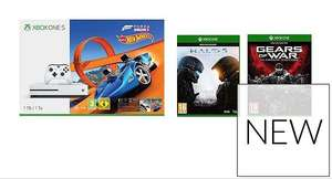 Xbox One S 1TB Forza horizon hot wheels + Halo 5 + GOW Bundles from £210.98 delivered after 10% new account discount code. @ Very