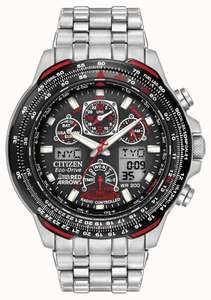 Citizen Gents Royal Air Force Red Arrows Radio Controlled Atomic World Time, £247.50 from Hsamuel