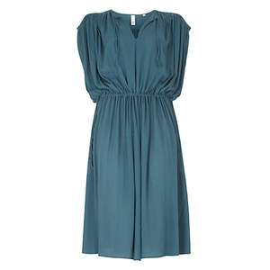 AND/OR Thea Tie Dress, Teal - £25 @ John Lewis