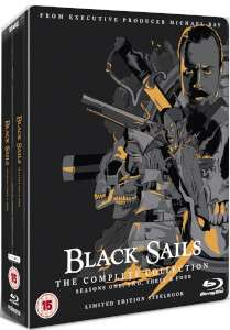 BLACK SAILS: THE COMPLETE COLLECTION - LIMITED EDITION STEELBOOK BLU-RAY - £34.99 @ Zavvi