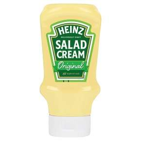 Heinz Salad Cream Original 425g 79p with PYO @ Waitrose