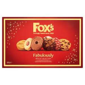 Fox's Fabulously Biscuit Selection 600G in Waitrose only 1 pound