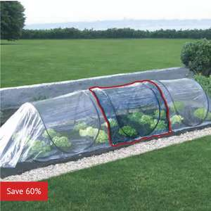 Pop Up Hotbed Gardenguard Tunnel & Extension - £24.97 with code @ Sutton Seeds