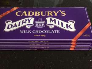 Dairy Milk 850g chocolate bar Tesco instore - £2.50