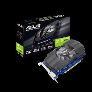 Asus GeForce GT 1030 2GB OC Edition Graphics Card - £54.99 @ Ebuyer
