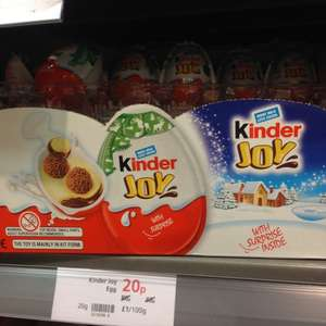 Kinder Joy Egg - 20p instore @ Waitrose