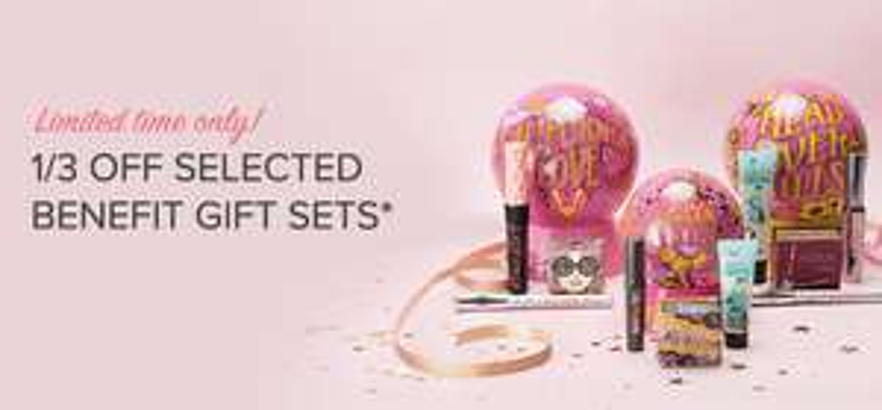 Benefit gift sets still available at Debenhams - £26.46