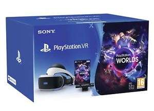 Sony PlayStation VR V2 (PS VR) + Camera + VR Worlds - £224 @ shopto ebay from 12pm with code