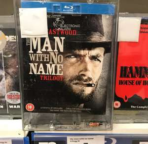 Clint Eastwood - The Man With No Name Trilogy Blu-Ray £7 instore @ Sainsbury's