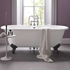 Freestanding bathtub at Bathstore with triple discount + quidco casback - £242.19 @ Bathstore
