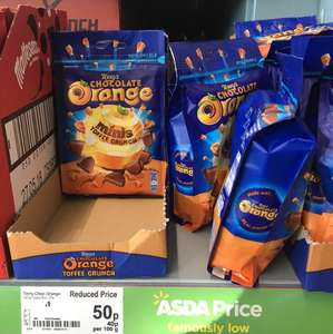 Terrys chocolate orange minis only 50p instore @ ASDA