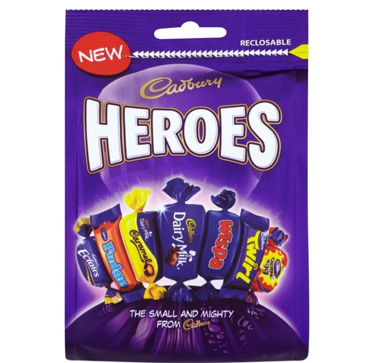 Heroes 92g @ Iceland Instore - 10p