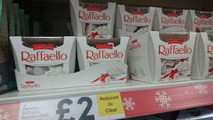Raffaello Ferrero 150g, £2 at Tesco (reduced to clear)