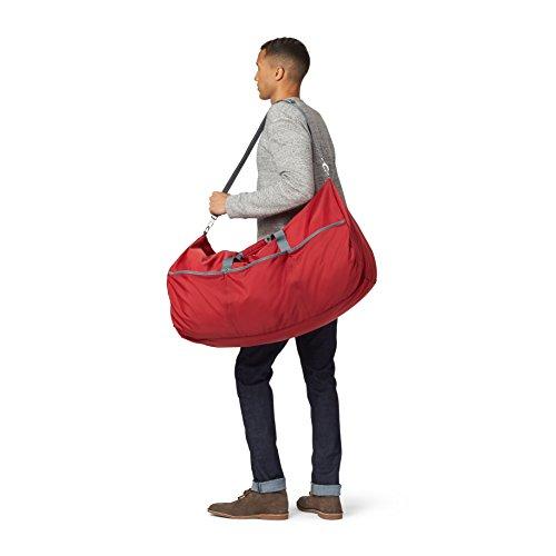 AmazonBasics Large Duffel Bag, 98L, Red - £5.63 (Prime) £9.62 (Non Prime) @ Amazon