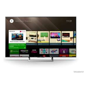 "Sony Bravia KD65XE8596 LED HDR 4K Ultra HD Smart Android TV, 65"" with Freeview HD & Youview, Black - £1299 @ John Lewis"