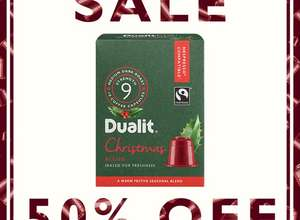 50% off Dualit Christmas Blend Coffee Capsules! - £1.45