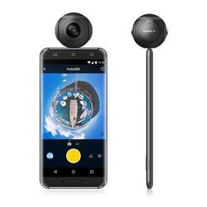 Insta360 Air - Android Compatible 360 VR Camera (Black) with live-streaming functionality - £112 @ Scan