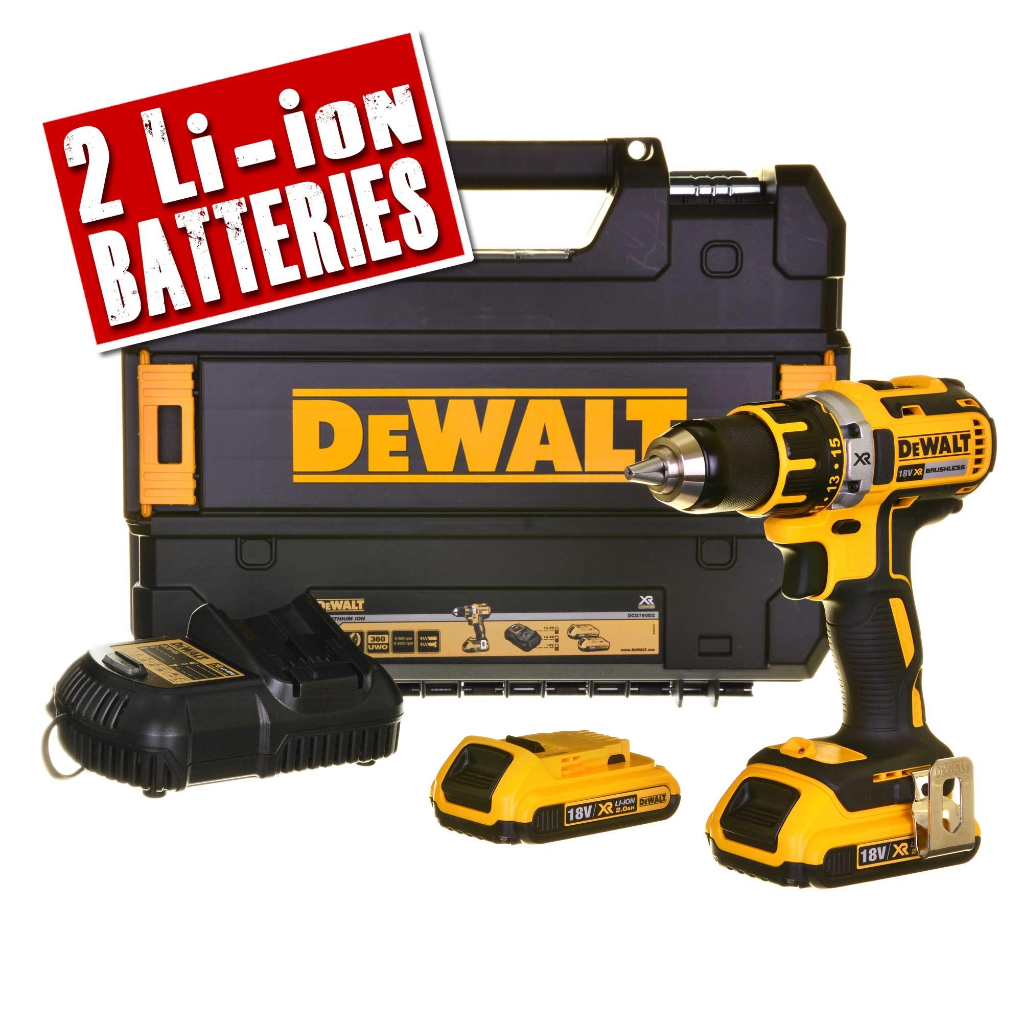 Dewalt DCD790D2 18v XR Brushless Drill/Driver £119.99 @ ITS
