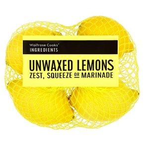 Cooks' Ingredients Lemons 4s - 75p @ Waitrose