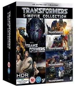 Transformers: 5-movie Collection (4K Ultra HD) [UHD] @ Zoom eBay with code PNY2018 for £40.48