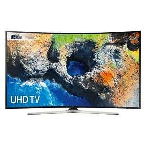 Samsung UE55MU6220 Black - 55inch 4K Ultra HD Curved TV in Black Wi-Fi - £465