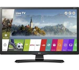 "LG 28MT49S 28"" Smart LED TV - Black £159.20 Delivered @ ebay Currys Using 20% Off Code"
