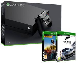 Xbox One X 1TB + Forza Motorsport 7 + Playerunknown Battleground with code PNY2018 - £374.99 @ Shopto ebay