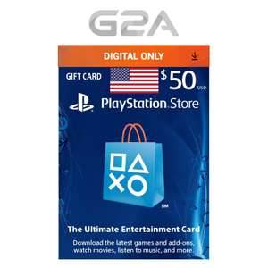 $50 Playstation Network Card for only £32.39 @ eBay g2a