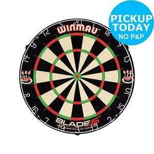 Winmau Blade 5 Bristle Dartboard - £17.59 (Free C&C) - Argos ebay outlet with code