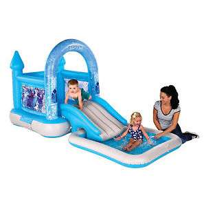 AirproTech Junior Frozen Bouncy Castle House, Slide & Pool (originally £130 & still £60 at Tesco Direct) now £30 Del wcode @ Tesco Ebay